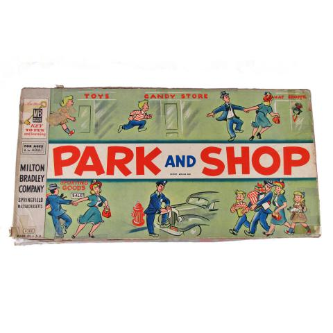 """Park and Shop"" board game"