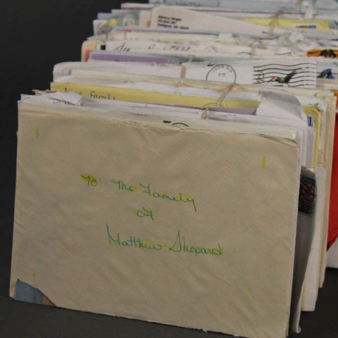 File of condolence letters