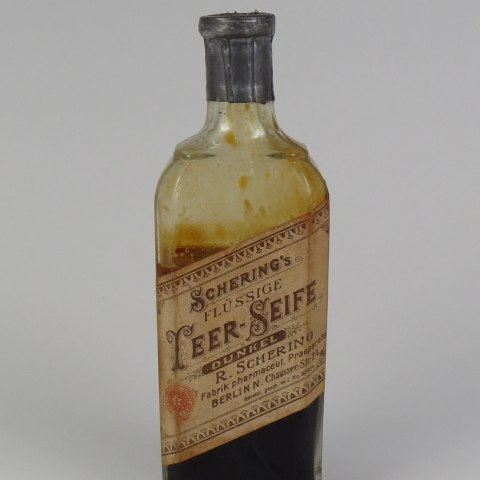 An old bottle of soap
