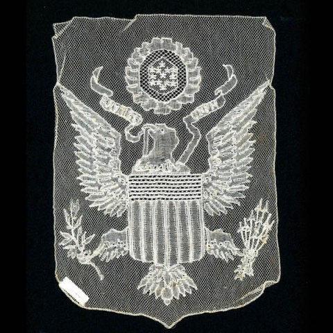 Lace with U.S. seal