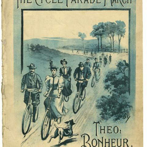 The Cycle Parade March sheet music