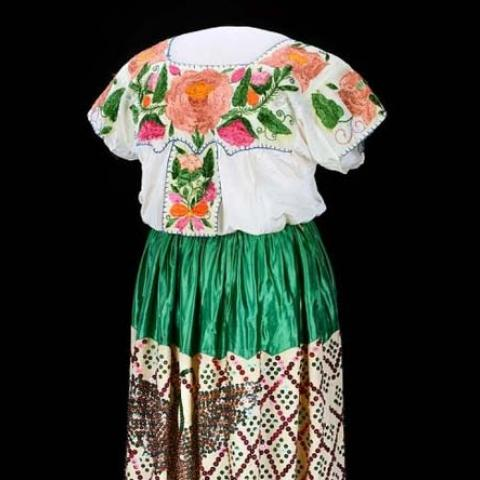 Mexican-style dress