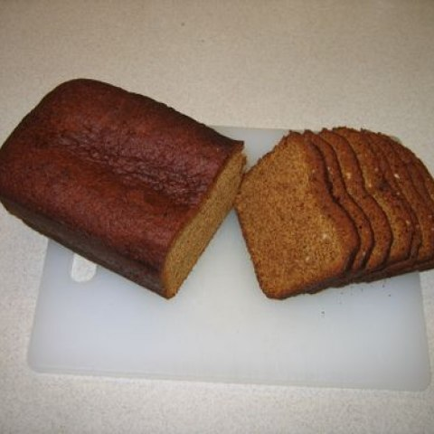 """A honey spice cake, """"Pain d'Epices,"""" created from a recipe made by Julia Child"""