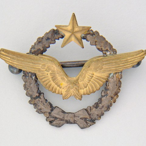Lafayette Escadrille pilot pin