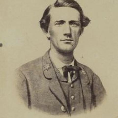 Carte-de-visit of John S. Moby