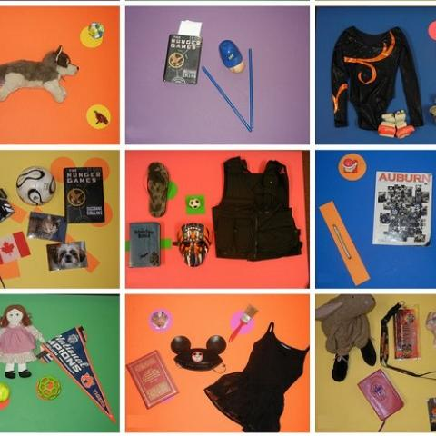 Students' object portraits