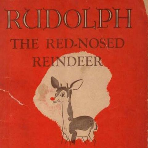 Cover of Rudolph booklet