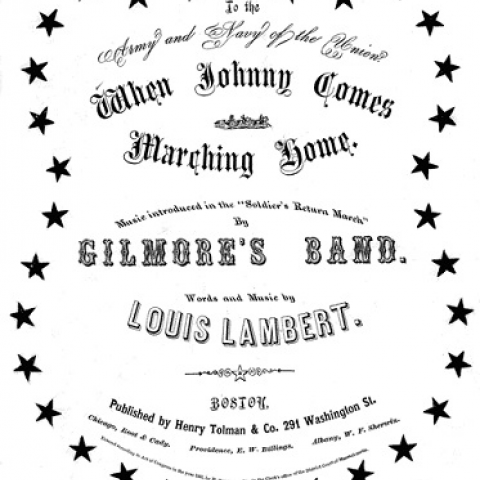 Cover of sheet music