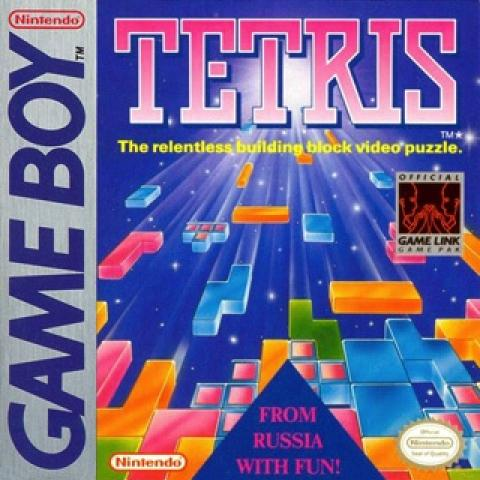 Cover of Tetris game