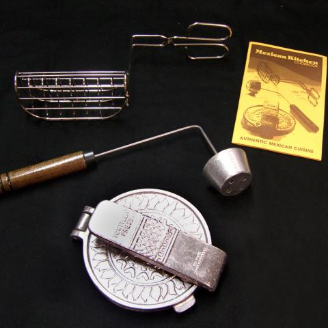 Mexican Kitchen Cookware Set was manufactured by Nordic Ware in 1982