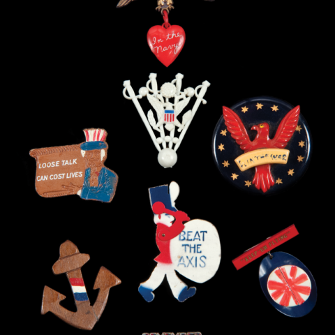 A collection of sweetheart jewelry