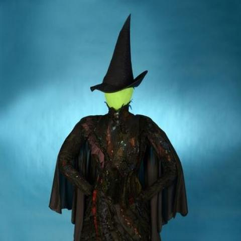 costume for Elphaba from the musical Wicked