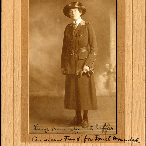 Lucy Kennedy Shaffer, American Fund for French Wounded