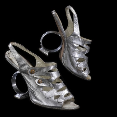 Celia Cruz costume shoes