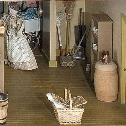 Detail from Miniature World of Faith Bradford