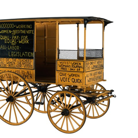 Woman Suffrage Wagon, 1870s–1920