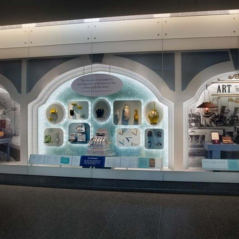 Overall view of the exhibit