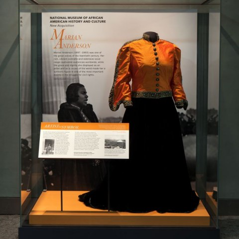 The case on display in 2 East (Photograph by Jaclyn Nash, Smithsonian Institution)
