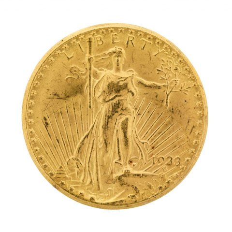 """Liberty, 20 Dollar """"1933 Double Eagle"""" Coin, United States of America, 1933"""