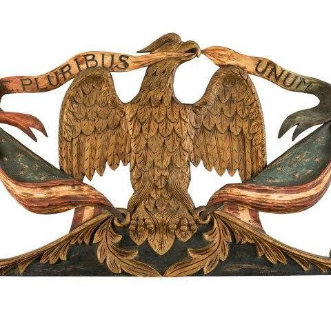Eagle, around 1850
