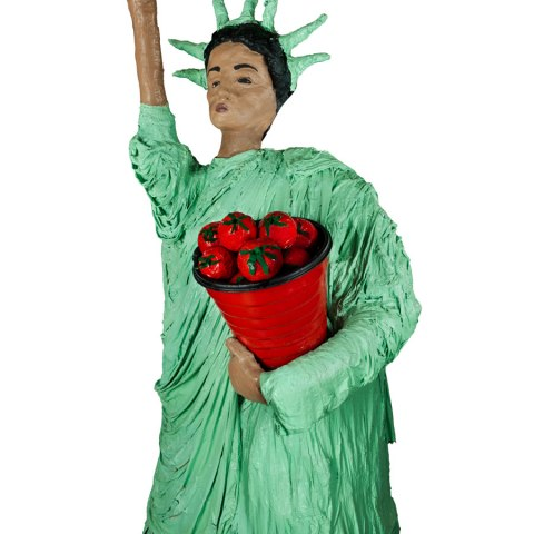 Immokalee Statue of Liberty, by Kat Rodriguez, 2000
