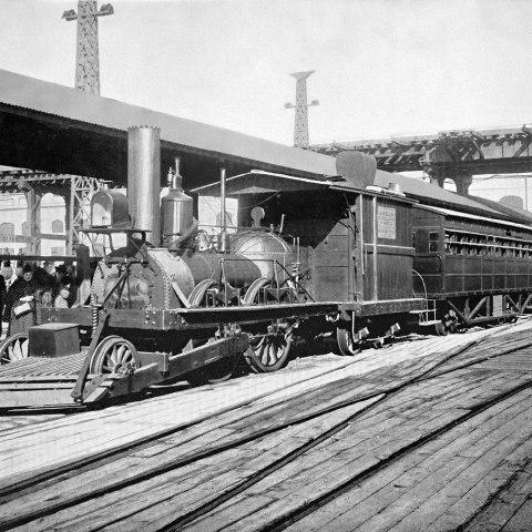 The John Bull at the World's Columbian Exposition, 1893