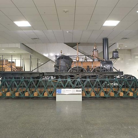 John Bull locomotive in 1 East