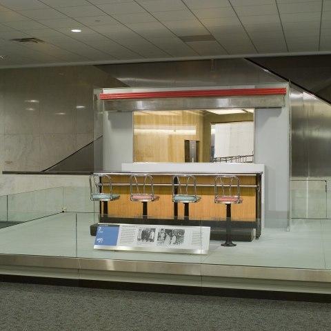 Lunch counter, circa 2008