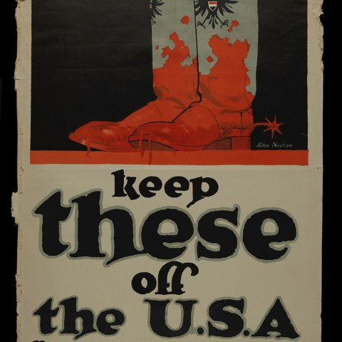 """""""Keep These Off the U.S.A."""" Poster"""