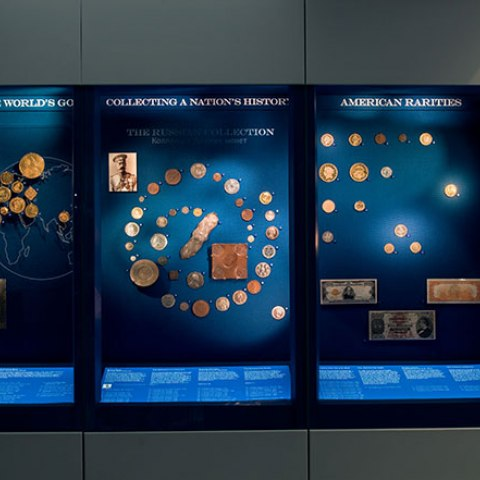 "Display in ""The Value of Money"""
