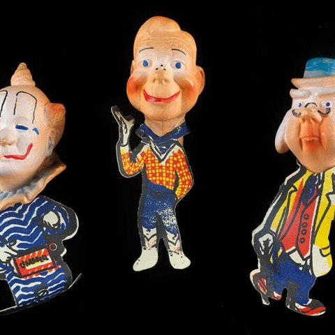 Howdy Doody finger puppets