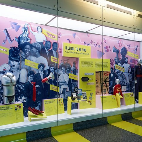 Display at the National Museum of American History