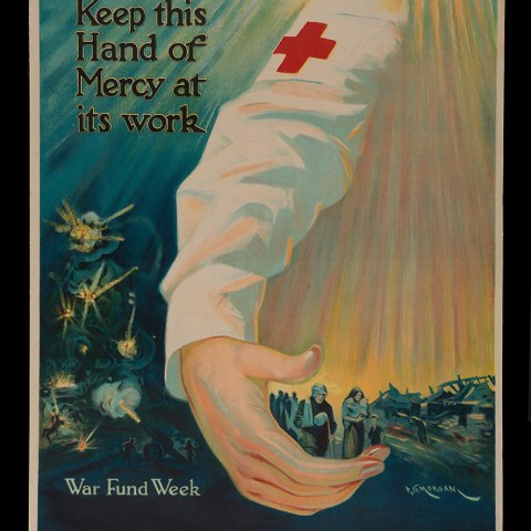 """""""Keep This Hand of Mercy At Its Work"""" Poster"""