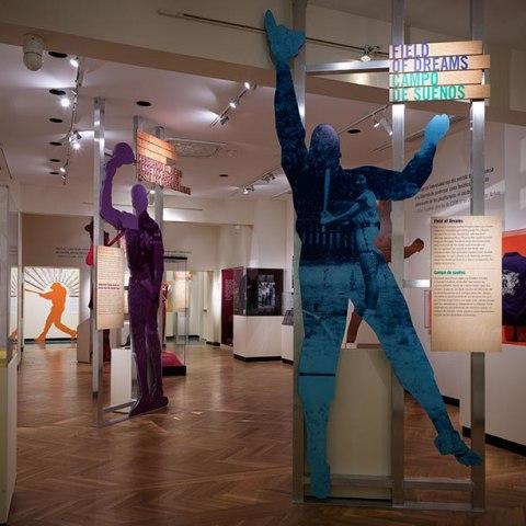 View of Pleibol exhibit gallery