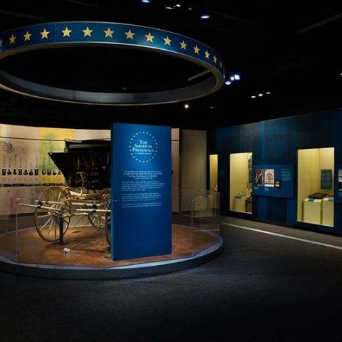 Photograph of exhibit entrance