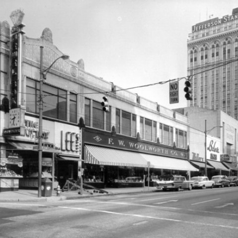 Woolworth's in Greensboro, North Carolina