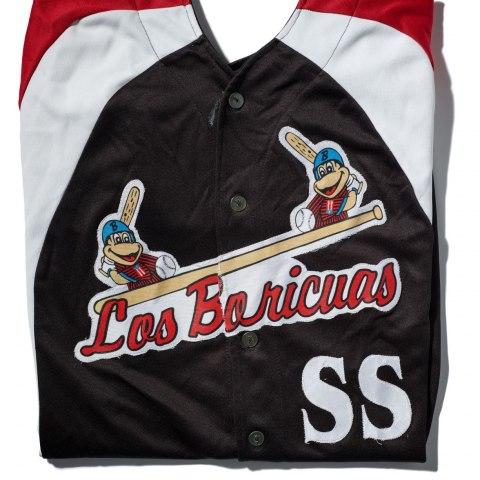 Los Boricuas jersey, Chicago, Illinois, 1997, Gift of José Jusino/Camiseta de Los Boricuas, Chicago, Illinois, 1997, Donación de José Jusino