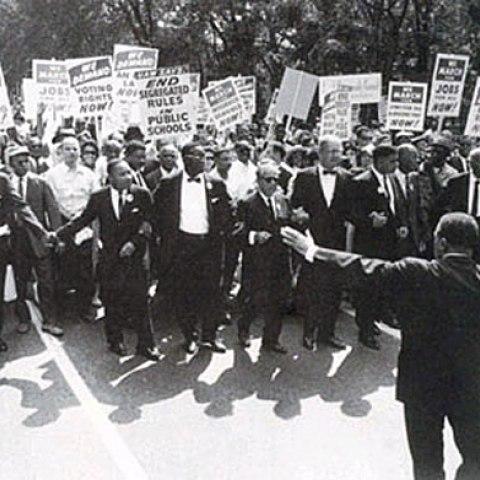 March on Washington (Courtesy of National Archives, Washington, D.C.)