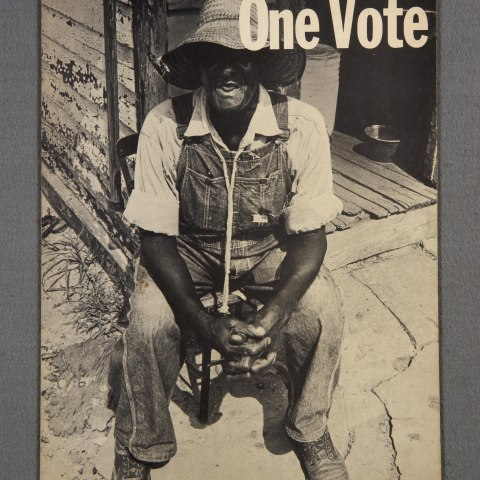 One Man, One Vote SNCC poster