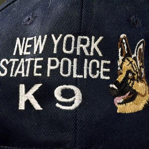 New York State Police K9 uniform baseball cap