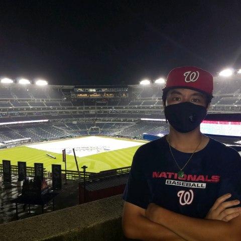 Photo in baseball stadium