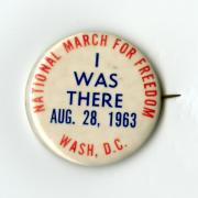 March Buttons (NMAH, gifts of Virginia Beets, Robert N. Ferrell, Jack S. Goodwin, Sam Steinhart)