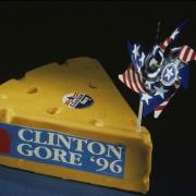 """""""Cheesehead"""" hat from the 1996 Democratic National Convention"""