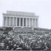 Crowd Attending the Dedication of the Lincoln Memorial