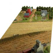 Model of a typical midwestern farm, about 1920, angle 3