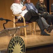 Eduardo Díaz (SI Latino Center), José Alamillo (CSUCI), and Priscilla Leiva (CSULA)