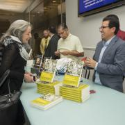 Book signing with José Alamillo (right)
