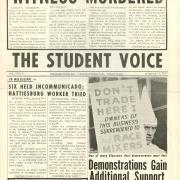 The Student Voice newspaper, February 3, 1964