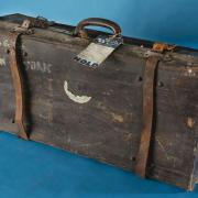 Camilla Gottlieb's suitcase, used to immigrate to the United States