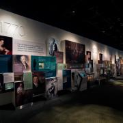 Photograph of American Enterprise - Biography Wall